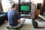 gracz gier komputerowych